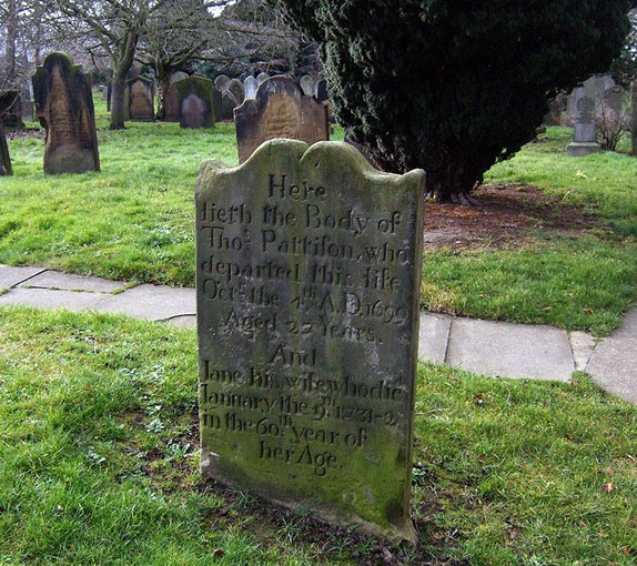 bereavement headstone
